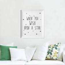 stars quotes kids poster nursery print art wall picture oil painting canvas art prints on wall art prints baby room with stars quotes kids poster nursery print art wall picture oil