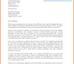 Gallery Of Social Service Cover Letters Letter Work Examples Soap