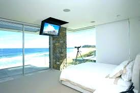 bedroom wall mount on ideas mounted in mounting flat screen tv best height for photo 1