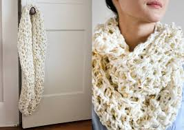Knitted Scarf Patterns Using Bulky Yarn Awesome 48 LooseKnit Scarf Pattern The Funky Stitch