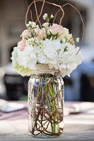 Mason Jar Decorations For A Wedding 100 best Mason Jar Centerpieces images on Pinterest Rustic 44