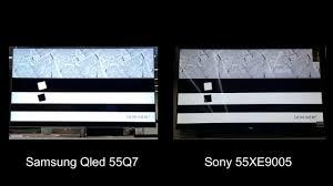 sony 55xe9005. samsung qled vs sony 55xe9005 - motion test 2 55xe9005