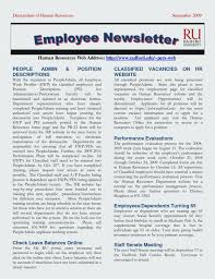 Employee Newsletter Templates Free Latest Of Employee Newsletter Templates Free Best Images Workplace