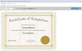 how to make a certificate of completion lms how to create professional certificates for courses and tests