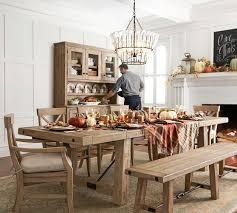 benchwright extending table aaron chair dining set seadrift