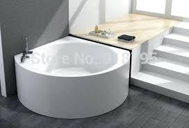 glass bathtub triangle wall corner bathtub with soaking fiber glass free standing tub indoor spa glass