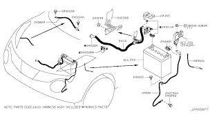 2015 nissan juke oem parts nissan usa estore wiring 240 battery harness