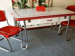 marvelous 1950 kitchen table and chairs vintage metal antique tables retro hot again trends