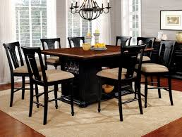 Counter Height Table And Chairs 9 Piece