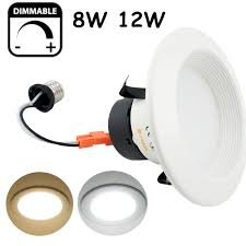 Retrofit Recessed Lights With Led 8w 12w Dimmable Led Downlight Ul Listed Retrofit Recessed
