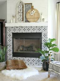 Budget Stencils How To Get The Look Of Expensive Real Tile With A Stencil