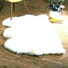 faux furry bathroom rugs furniture fair nc fur area rug white row