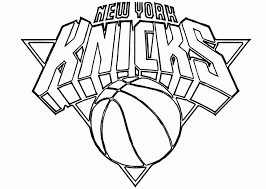 Small Picture Nba coloring pages new york knicks ColoringStar