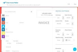 Invoices Online Free Free Invoice Maker Make Your Own Receipts Free