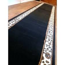 black and white polka dot rug carpet runner runners for hallways foot gold