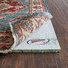 rug pad usa 8 x10 moisture barrier spilltech scotchguard 3m advanced repel rug pad blue