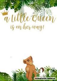 The Lion Guardtion Chalkboard Invite Printables Birthday