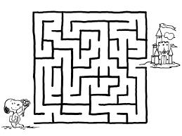 Labirinto Da Colorare Migliori Pagine Da Colorare