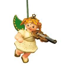Christbaumschmuck Engel Mit Geige 6 Cm