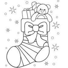 Small Picture Christmas Stocking Coloring Pages Kids Coloring Pages