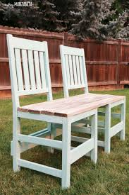 colorful upcycled chair bench for your backyard chair painting diy outdoor furniture and furniture projects