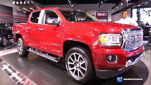 gmc 2015 truck red. 2017 gmc canyon denali unveiled exterior and interior walkaround 2015 la auto show youtube gmc truck red