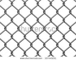 chain link fence. Chain Link Fence Background On White Background. C