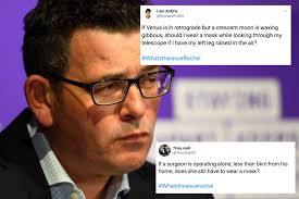 See what dan andrews (dndrews90) has discovered on pinterest, the world's biggest collection of ideas. Vic Premier Dan Andrews Skewers Oz Journalist S Esoteric Mask Question And Now It S A Hilarious Meme B T