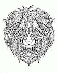 They are larger than deer and inhabit mountainous forest regions. Lion Head Coloring Pages Printable Animal For Adults Cub Angry White Animated Bloody Half Female Face 3d The Of A Oguchionyewu