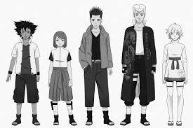 Character Design Oc T Rizzle Com Naruto Oc Line Up Character Design
