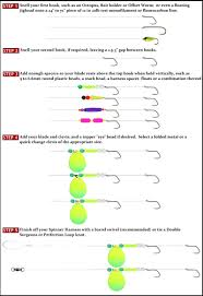 How To Tie A Walleye Spinner Or Crawler Harness Fishing