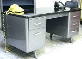 vintage metal office furniture. Perfect Metal Desk  And Vintage Metal Office Furniture