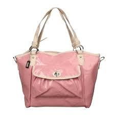 Coach Bleecker Riley Carryall Small Pink Satchels ECI