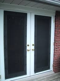 exterior motorized window shades furniture french doors with outside solar shade on white door combined brick