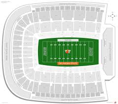 Tu Football Stadium Seating Chart Boone Pickens Stadium Oklahoma St Seating Guide