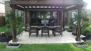 covered stamped concrete patio. Cover Concrete Patio With Wood Awesome Stamped Pergola  Stock Covered Stamped Concrete Patio G