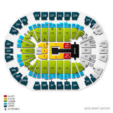 Save Mart Seating Chart Fresno Ca Save Mart Center 2019 Seating Chart
