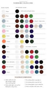 50 Uncommon Color Chart Dressing