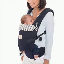 Adapt Baby Carrier - Best Carrier for Newborn - Blue | Ergobaby