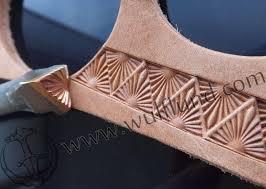 sun leather stamp