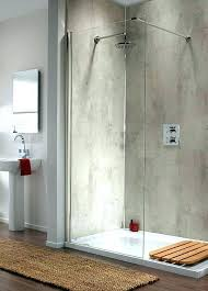 concrete shower walls diy ceramic tiled steam shower with