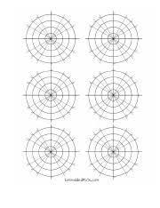 Polar Graph Paper Pdf