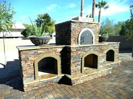 outdoor fireplace with pizza oven outdoor fireplace pizza oven combo phoenix pizza oven fireplace combo completed