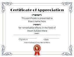 Certificate Of Appreciation Great Patriotic Template Choice