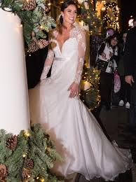 the most beautiful celebrity wedding dresses heart