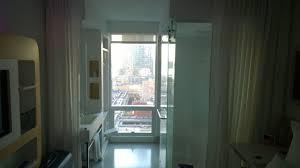 Blick Von Tür Richtung Fensterbad Yotel New York New York