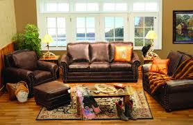 rustic leather living room furniture. Rustic Living Room Furniture Ideas To Created A Romantic With Traditional Style Leather C