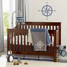 baby boy crib bedding blue and grey