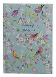 Birthday And Address Book Whsmith Melodie A5 Birthday And Address Book Whsmith