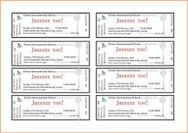 Avery Templates For Event Tickets The Hakkinen